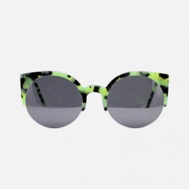 Green Wayfarer Sunglasses